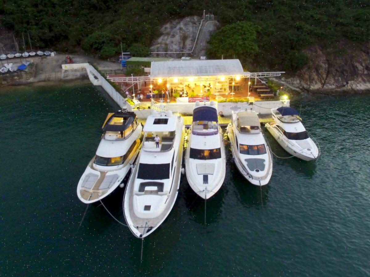 Asien Yachting Succesfuld Holder Hong Kongs første aften-8296