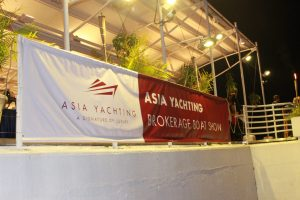 Asia Yachting hold's Hong Kong's first Evening Brokerage Boat Show