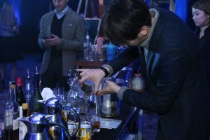 Bartenders from Remy Martin mixing cocktails at the MCY80 Launch Event held by Asia Yachting_1