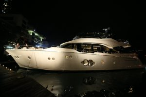 World's First and Only Monte Carlo Yachts 80 at the Aberdeen Marina Club during her Hong Kong and Asia launch held by Asia Yachting_2