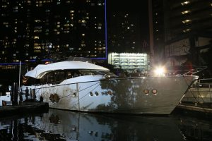 World's First and Only Monte Carlo Yachts 80 at the Aberdeen Marina Club during her Hong Kong and Asia launch held by Asia Yachting_3