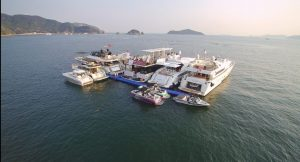 Asia Yachting displayed 9 boats at season's first brokerage boat show in the middle of the ocean in Repulse Bay on April 29 and 30_3