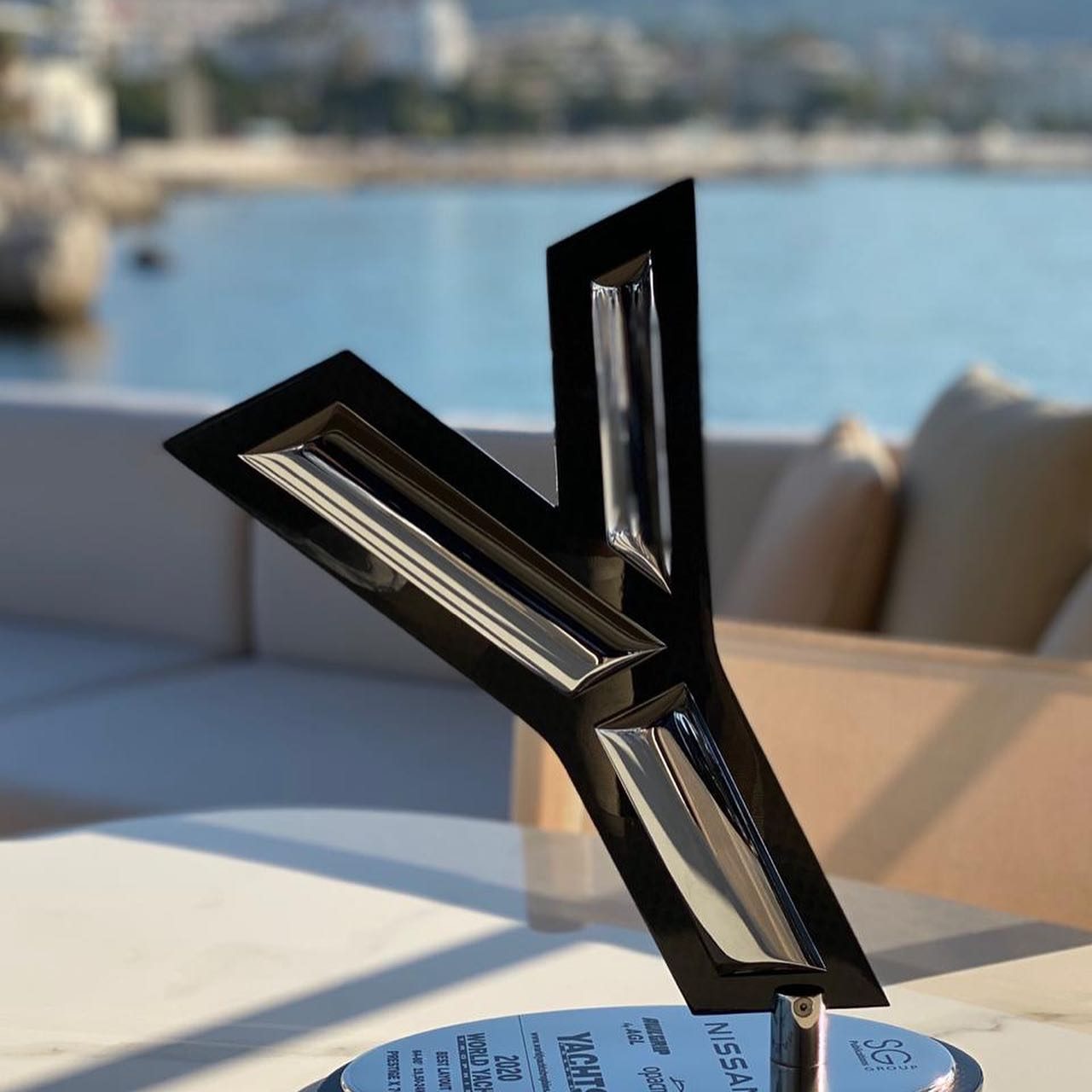 "Prestige X70 receive ""Best Layout"" award in World Yacht Trophies 2020"