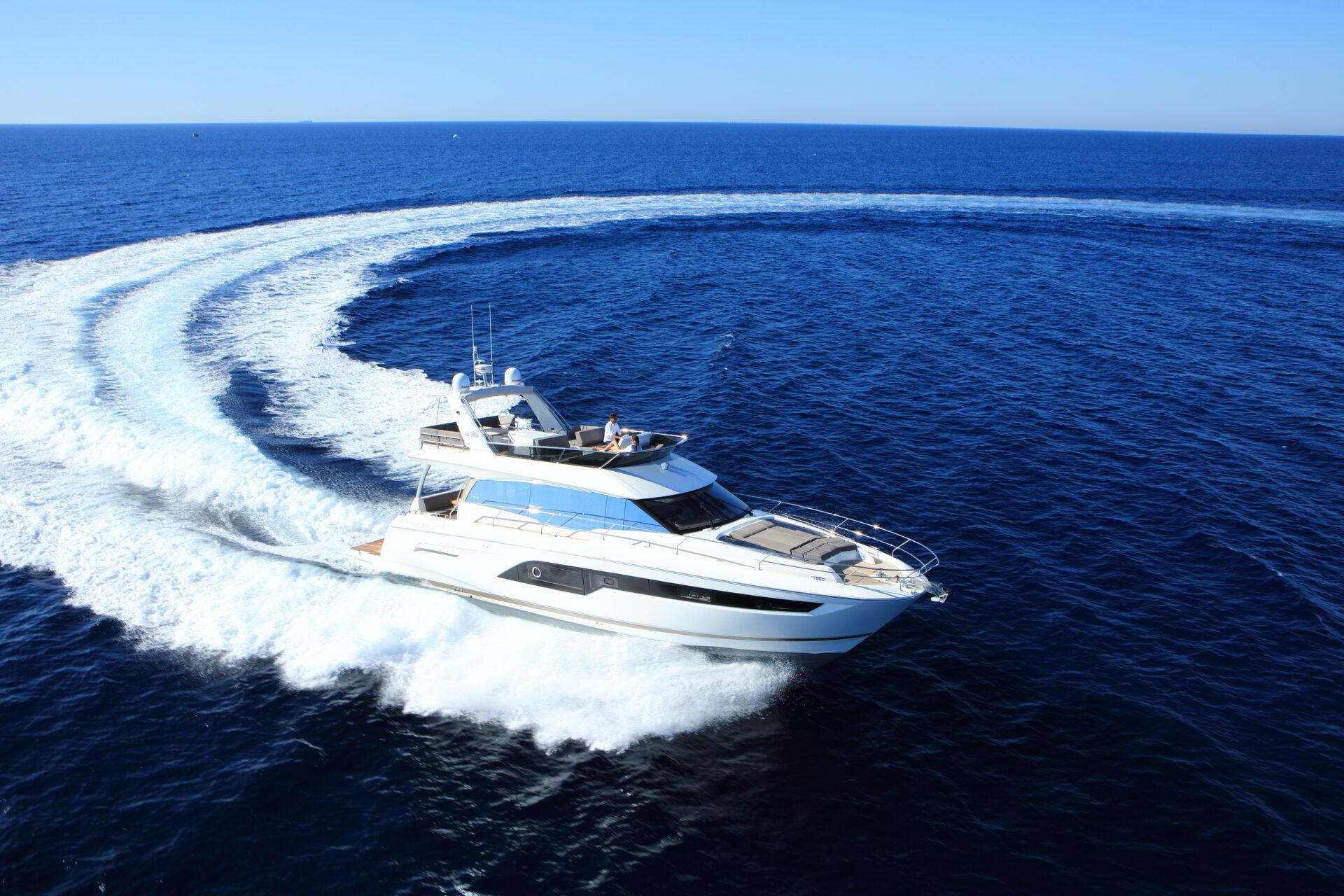 prestige yachts 630